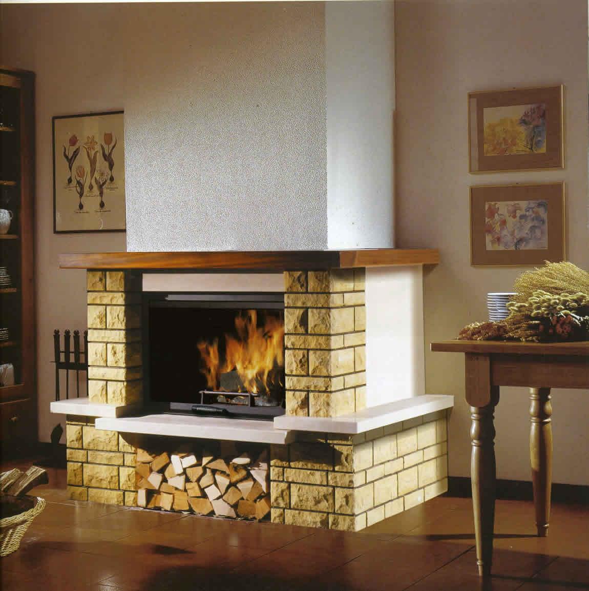 Chimeneas le a calefactoras - Revestimiento de chimeneas modernas ...